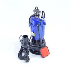 Fäkalienpumpe Tauchpumpe Schmutzwasserpumpe 0,55kW  freier Durchlauf bis 30 m