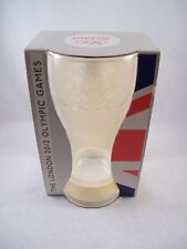London 2012 Olympics Coca Cola Glass With White Wristband In Box - McDonalds
