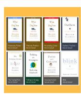 Malcolm Gladwell Collection (8 eBooks)  E.PUB/P.DF|