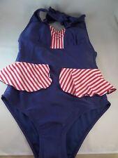 NWT Star in Stripes Fables By Barrie 1pc mazzie Badeanzug Vintage Retro SZ 1X