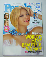 People Magazine Beyonce World's Most Beautiful Woman! May 2012 053112R1
