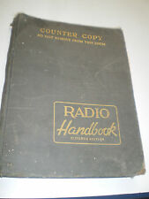 1947 Counter Copy Radio Handbook - 11th Edition