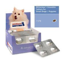 4 Comprimidos masticables Milbemax para perros de 0'5 a 5 Kg OFERTON CAD 12/19