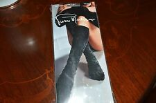 PIERRE MANTOUX  GUANTO TRUDY HOLD UP UNDER KNEE STOCKINGS OPEN TOES ONE SIZE NIP