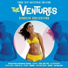The Ventures SINGLES COLLECTION 180g GATEFOLD Best Of 36 Songs NEW VINYL 2 LP