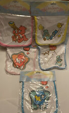 Care Bears Baby Burp Cloth Lot of 5 New in Package