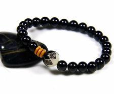 Natural Gemstone Power Bead Energy Stone Chakra Healing Bracelet for Men Women