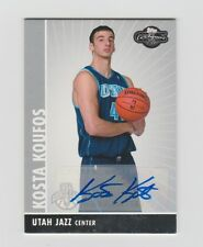 Kosta Koufos Jazz 2008-2009 Topps Co Signers Rookie Autographs #122 45/350