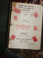 Higgins  & Gage price Catalogue of Postal Stationery of the World.