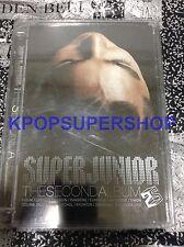 Super Junior The Second Album Don't Don Fair Condition Rare OOP Korean Version