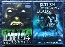 RETURN OF THE LIVING DEAD 4 & 5 - Region 2/UK - Necropolis / Rave to the Grave