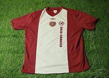 HEARTS SCOTLAND 2010-2011 FOOTBALL SHIRT JERSEY HOME UMBRO ORIGINAL SIZE XXXL