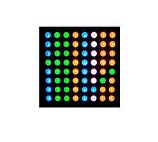1pcs 5mm 88 8x8 Full Colour Rgb Led Dot Matrix Display Module Common Anode S