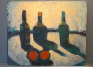 WILFRED ANDREWS mid/late 20thC Northern School ORIGINAL Oil Painting STILL LIFE