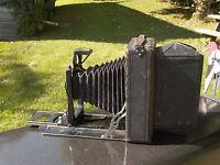 "Contessa Nettel Altura Plate camera # 309456 10x14cm 4x5"" Zeiss Tessar 16.5/6.3"