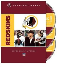 NFL DVD WASHINGTON REDSKINS super bowl 17 22 26  [ posted from the UK ]