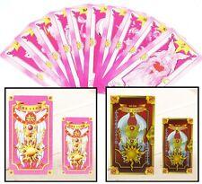 One Set Cosplay Card Captor Sakura Pink Clow with 56 Tarot Playing Cards