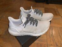 Adidas UltraBoost 19 Triple White G54008 Men's Size 10.5 Boost PrimeKnit