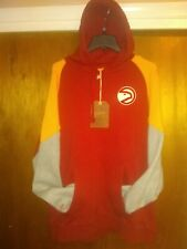 NEW Atlanta Hawks Mitchell & Ness Sweatshirt Trading Block Hoody Hoodie 2XL