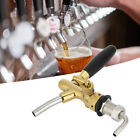G5/8 Thread Adjustable Beer Tap Faucet Brass Stainless Steel Equipment for Home