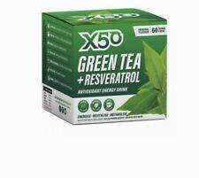 X50 Green Tea + Resveratrol Original 60 Sachets