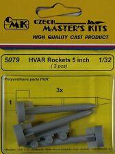 CMK 1/32 HVAR Rockets 5 inch x 3 # 5079