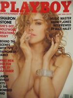 Playboy July 1990 | Sharon Stone Jacqueline Sheen Rhonda Monroe   #2328+