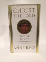 Christ The Lord Out of Egypt & Blood Canticle by Anne Rice 1st Editions