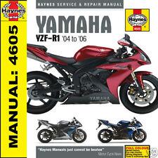 Yamaha R1 YZF-R1 2004-2006 Haynes Manual 4605 NEW