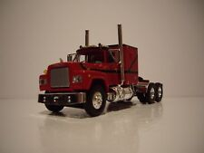 FIRST GEAR 1/64 RED, BLACK, GOLD MACK R MODEL WITH SLEEPER CAB DCP TIE