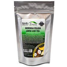 Moringa Tea Loose Leaf Caribbean Crush With Premium Organic Moringa