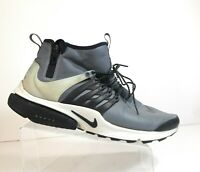 Nike 859524-001 Air Presto Mid Utility Men DS Cool Grey Sport Shoes Size 14