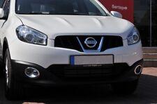 Para adaptarse a J10 Nissan QASHQAI Facelift 2010-2014 Luz Antiniebla Cromo ABS Cubierta De Llanta 2Pcs