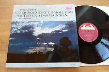 SCHUBERT string quartet - death and the maiden KOECKERT LP Heliodor 89523