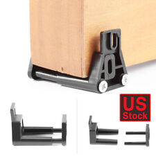 Bottom Floor Adjustable Wall Mount Stay Roller Guide Sliding Barn Door Hardware