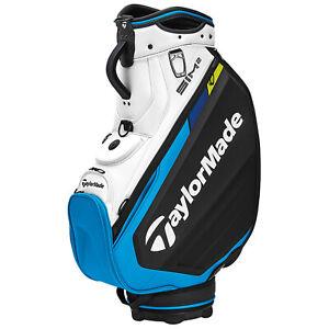 2021 TaylorMade SIM2 Tour Staff Golf Bag Carry Cart 6-Way Tour Authentic Velour