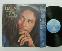 Bob Marley And The Wailers ‎– Legend LP 1984 JAPAN Island 28SI-213 REGGAE w/ obi