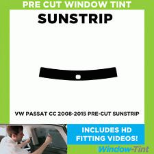 Pre Cut Sunstrip - VW Passat CC 2008-2015 - Window Tint