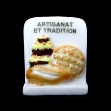 Fève de collection en porcelaine _ARTISANAT ET TRADITION _ Objet de vitrine