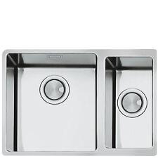 Smeg VSTR3418-2 Mira Stainless Steel 1.75 Bowl Undermount Sink