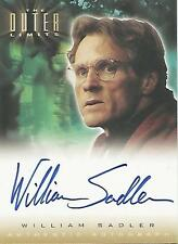 "Outer Limits Sex, Cyborgs...: A14 William Sadler ""Frank Hellner"" Autograph Card"