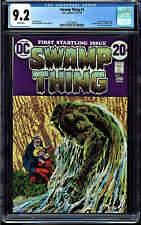 SWAMP THING #1 CGC 9.2 WHITE PAGES ORIGIN OF THE SWAMP THING CGC #2037498022