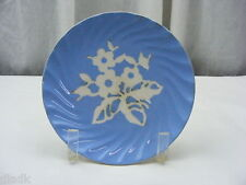 Vintage Harker Pottery USA Bread Butter Dish Set of 10 Round Plates Cameoware