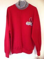 Mens Majestic Cardinals Turtleneck Sweatshirt NWT : 59.99 ( RED ) L
