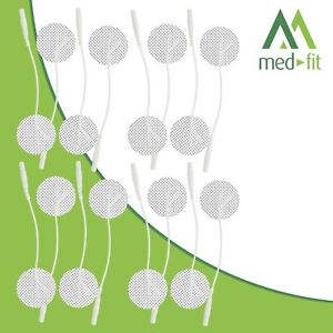 16 (4 Packs) 3.2cm Round TENS Electrodes Pads. Ideal for all types of TENS