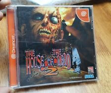 The House of the Dead 2 Japanese Import, Sega Dreamcast, with IntetAct lightgun