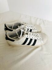 Adidas Superstar Mens Size 9.5 Classic Shoes White Black Shell Athletic Sneakers