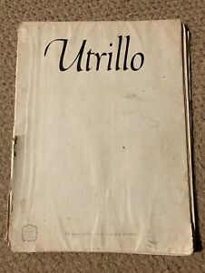 UTRILLO Express Art Book - Full Colour Prints