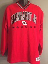 Dale Earnhardt Jr. Budweiser Embroidered Mens Medium Long Sleeve Pullover Shirt