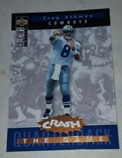 1994 Collector's Choice Crash the Game Bronze Redemption #C2 Troy Aikman